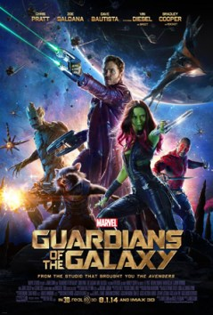 """""""Guardians of the Galaxy"""" has been the Number 1 box office movie in America for two weeks. Released on Aug. 1, 2014, the Marvel comics based movie has made over $772.1 million. Vin Diesel and Chris Pratt star in the film and are a part of the superhero team that protects the universe from threats all across space."""
