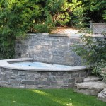 Elite Blue Granite Sawn Height house HotTub