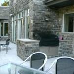 Elite Blue Granite Sawn Height house patio