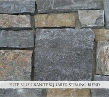 Elite Blue Granite Squared Stirling Blend
