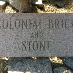 Fieldstone Granite Engravement