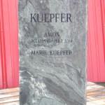 Elite Blue Granite Polished Headstone