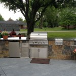Winding Creek Squared outdoor BBQ
