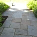 bluestone patio closeup