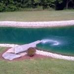 Elite Blue Granite Diving Board Slab
