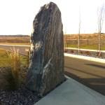 elite blue granite pillar accent boulder