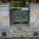 Elite Blue Granite Engraved Sign