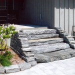 Elite Blue Granite Guillotined Steps