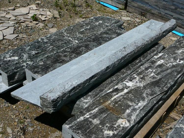 Elite Blue Granite Thin Veneer Window Sills (Natural Top & Edge)