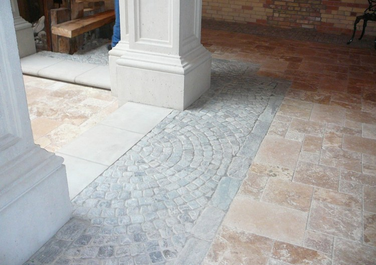 Tumbled Elite Blue Granite Cobbles
