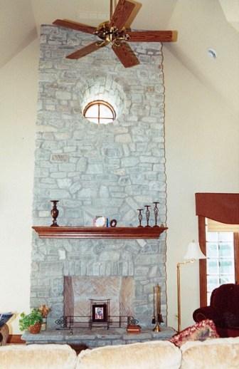 fireplace ottawa valley limestone