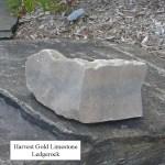 harvest gold limestone ledgerock veneer corner
