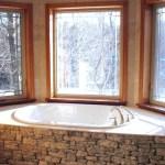 harvest gold limestone tumbled blend tub