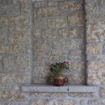 harvest gold limestone tumbled sawn height detail
