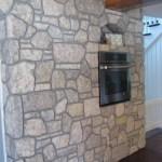 interior stone harvest gold limestone tumbled blend kitchen