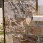 large squared fieldstone