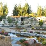 limestone cave waterfall