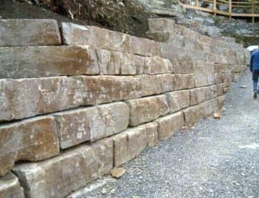 Mocha Brown Limestone Wallstone