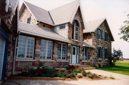natural stone fieldstone addition