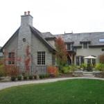 ottawa valley limestone house back