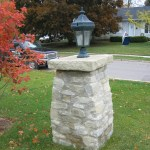 ottawa valley limestone light post