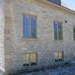 ottawa valley limestone tumbled ledgerock house end detail