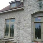 ottawa valley limestone tumbled ledgerock house entrance detail