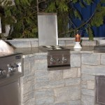 outdoor living side grill
