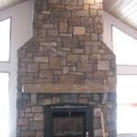 paulas dream blend elite blue granite fireplace