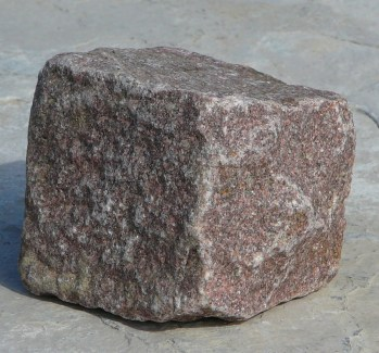 pink grantie cube cobble