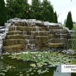 repair limestone waterfall