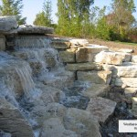 waterfall weatheredge limestone water fall