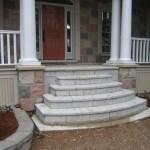 weatheredge limestone bush hammered flag steps
