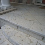 Weatheredge Limestone Square Cut Flagstone - Bush Hammered Finish