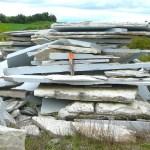 weatheredge limestone pond bottom skins