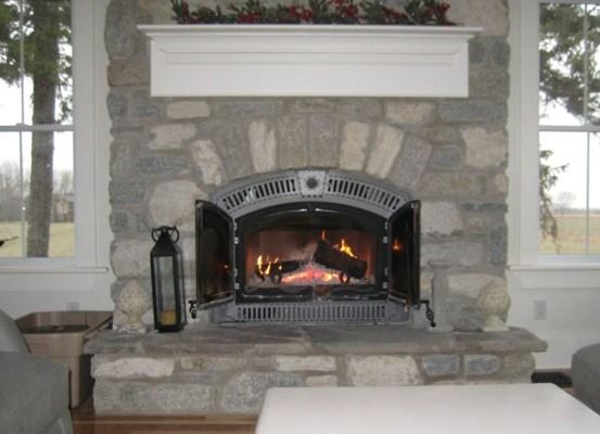 weatheredge limestone tumbled blend fireplace insert