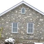 weatheredge limestone tumbled blend house side