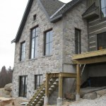 weatheredge ottawa valley tumbled blend house back view