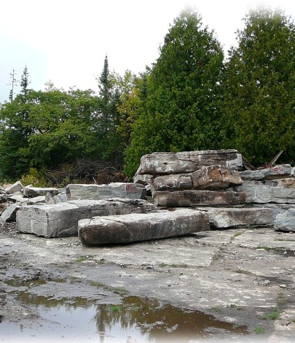 weatheredge quarry amabel formation outcrop stone