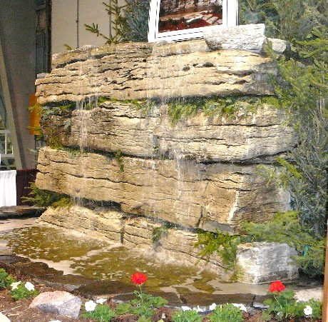 Weatheredge Limestone Sawn Waterfall