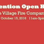 Colonie Village Fire Company Open House 2016