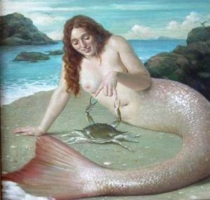 mermaid-crab