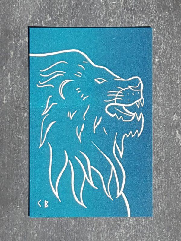 lion signe astrologique zodiaque recto