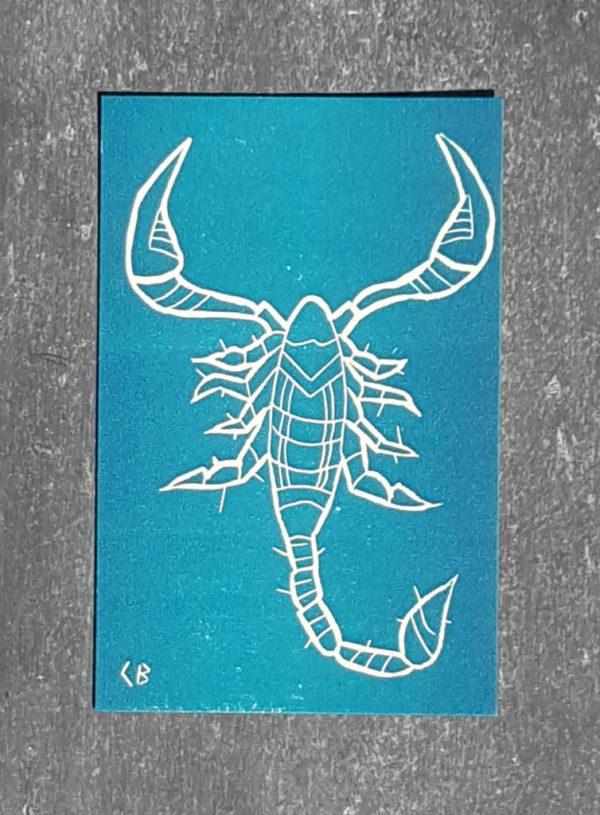scorpion signe astrologique zodiaque recto