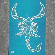 scorpion signe astrologique zodiaque recto