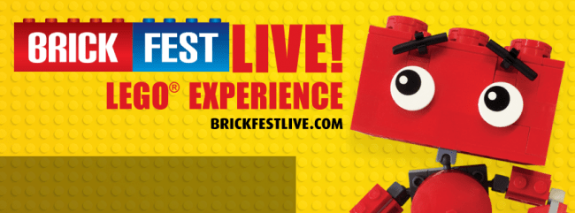 Brick Fest Live! LEGO® Fan Experience is Making Your Childhood ...