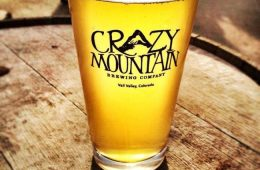 Pint from Crazy Mountain Brewing Company