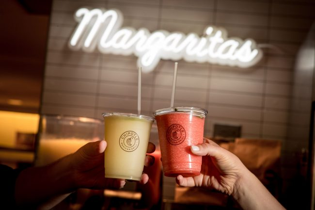 Chipotle Frozen Margaritas