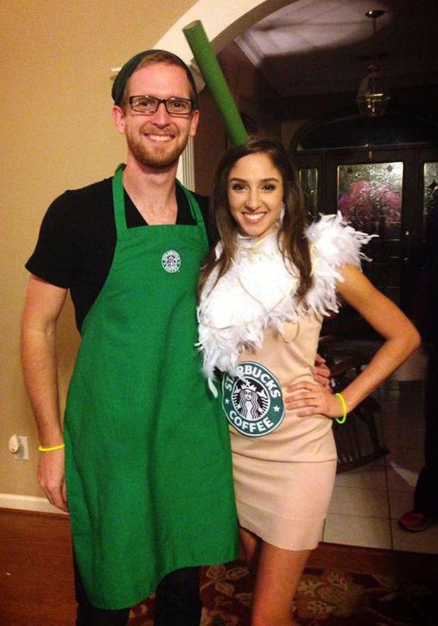 frappuccino and starbucks barista
