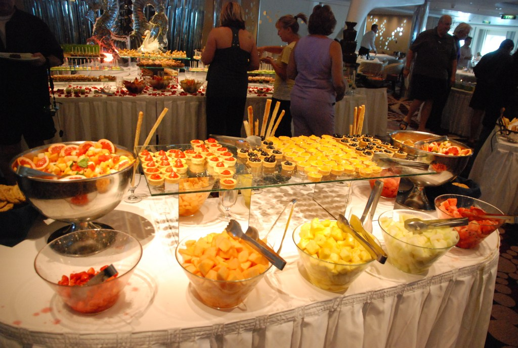 large brunch buffet
